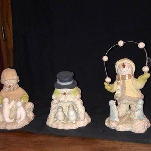 """Ice Sculptures"" Snowmen"